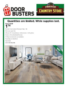 Timber Top Silo Flooring Flyer