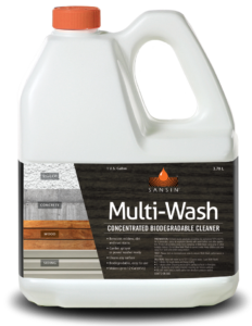 Sansin Multi-Wash Concentrated Biodegradable cleaner