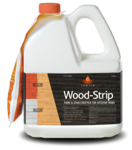 Sanin Wood Strip Paint & Stain Stripper for Exterior Wood