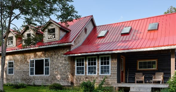Vicwest Red Metal Roofing