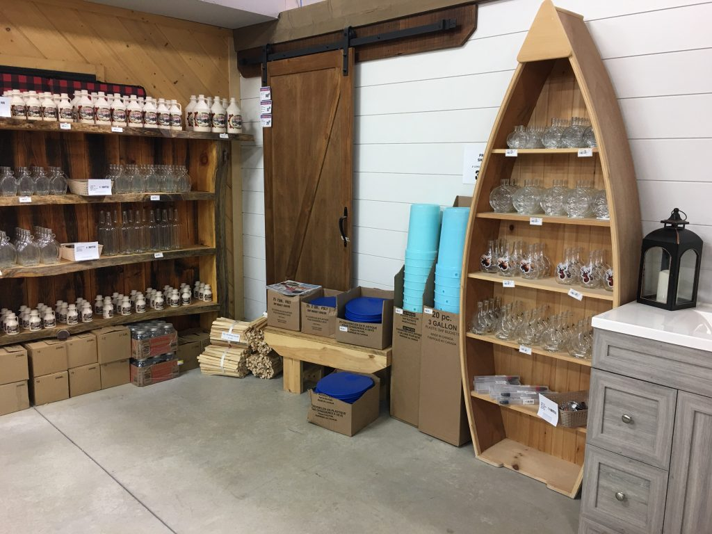 Maple Syrup Supplies at Timber Top Store